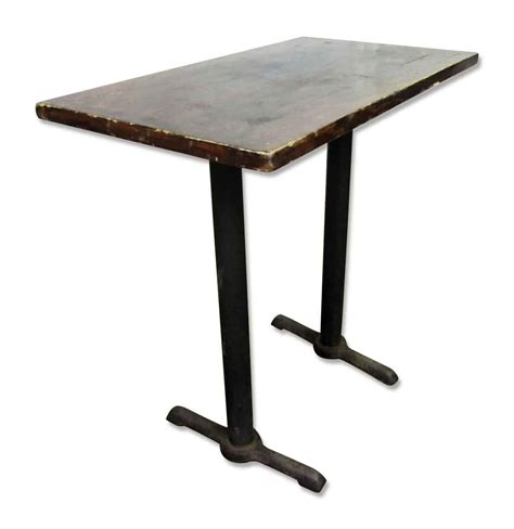 bar height table legs wooden top bar height table with iron legs olde things