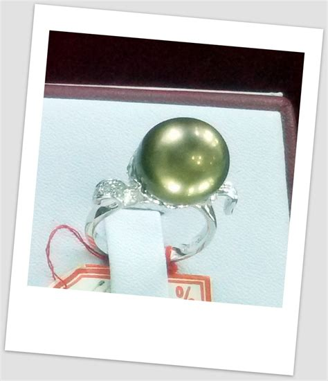Cincin Mutiara Lombok Perhiasan Accessories 3 handmade gold ring with south sea pearl ctr 102 harga mutiara lombok perhiasan toko emas