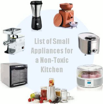 non toxic kitchen cabinets small appliances for a non toxic kitchen