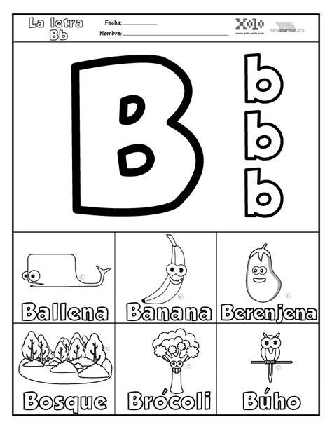 imagenes que empiecen con la letra b para recortar b para imprimir