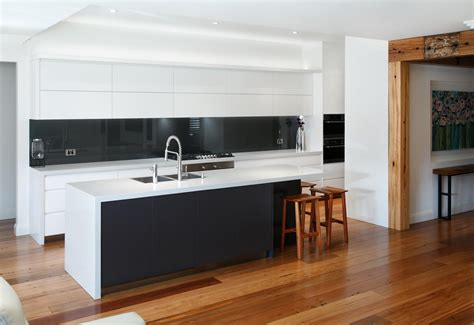 www kitchen black and white contemporary kitchen completehome