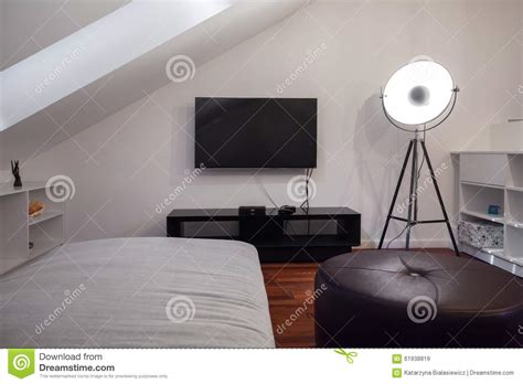 bedroom for teenager modern bedroom for a teenager stock photo image 61938819