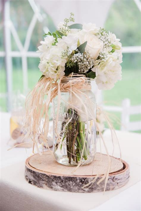 rustic jar centerpieces for weddings 1000 ideas about rustic jars on