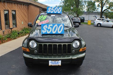 2006 green jeep liberty 2006 jeep liberty green 4x4 used suv sale