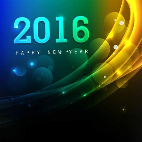 new year 2016 greeting card free beautiful new year 2016 greeting card vector free
