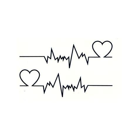 tatouage battement coeur tatouage ephemere coeur faux