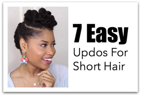 easy updos for medium hair you can do yourslef hairstyles you can do with short hair