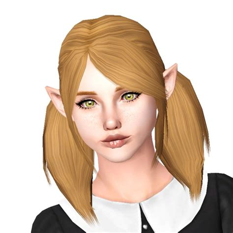 pigtails hair sims 4 mod the sims steunk pigtails hairstyle for sims 4