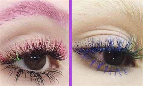 ombre eyelashes trend takes instagram  storm
