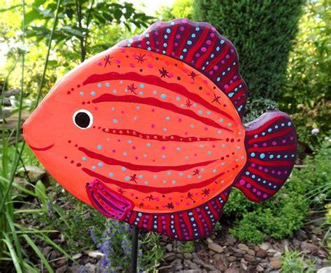 Gartendekoration Bunt by Gartenstecker Fisch Gartendeko Maritim Bunt Kimama
