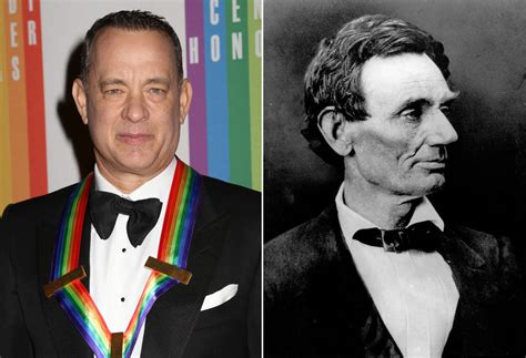 abraham lincoln tom hanks tom hanks y abraham lincoln en loc el mundo