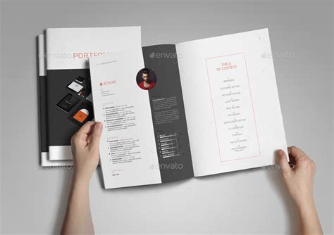 graphic design portfolio template by adekfotografia