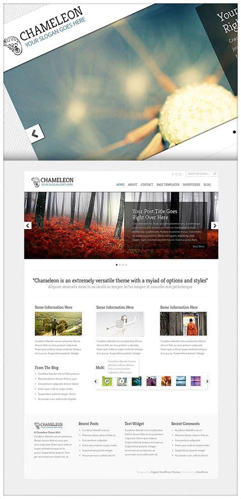 elegant themes chameleon exles theme sneak peek chameleon elegant themes blog