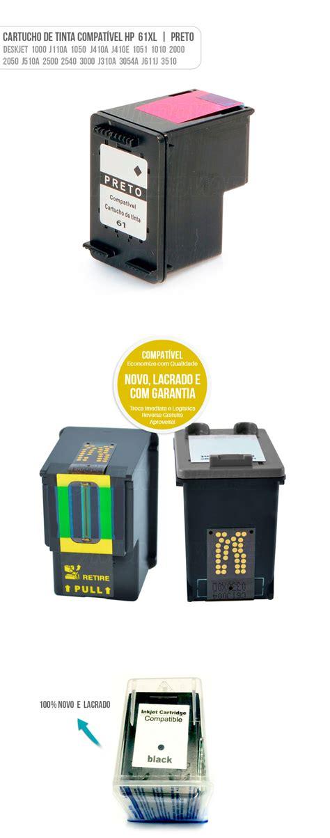 Refill Tinta Printer Hp Deskjet 1010 cartucho de tinta preto compat 237 vel 61 para hp j410a 1010 mundoware