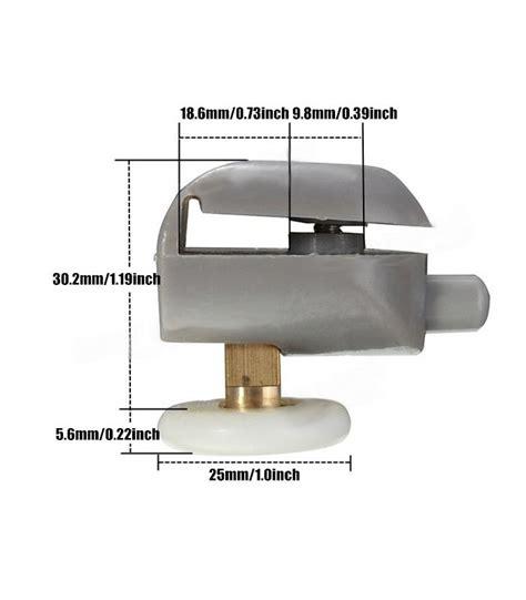ruote per box doccia ruota cuscinetto per scorrevoli box doccia in vetro 25 mm