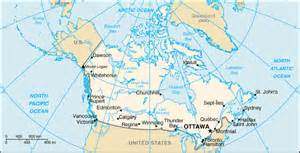 canada latitude map canada map longitude and latitude