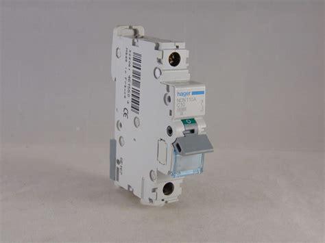 Mcb Broco 10 Ere C10 hager mcb 10 single pole circuit breaker type c 10a