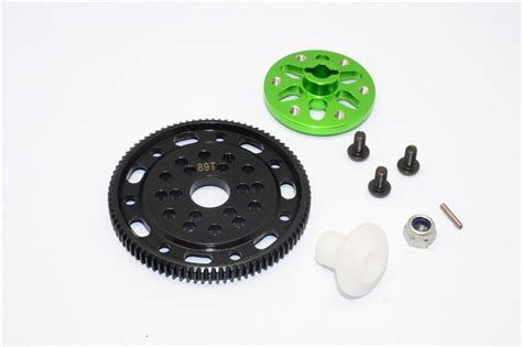 3racing Spur Gear 48 Pitch 89t Axial Racing Scx10 Steel 45 Spur Gear 48 Pitch 89t