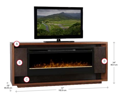 Maddox Electric Fireplace by 72 Quot Dimplex Maddox Maple Media Console Fireplace