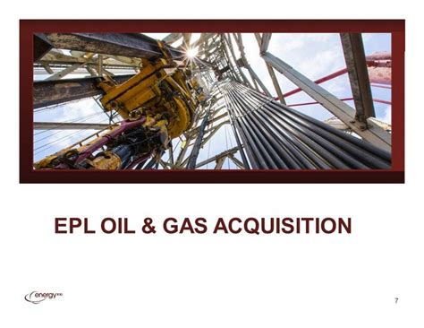 epl oil and gas image goes here epl oil gas acquisition 7