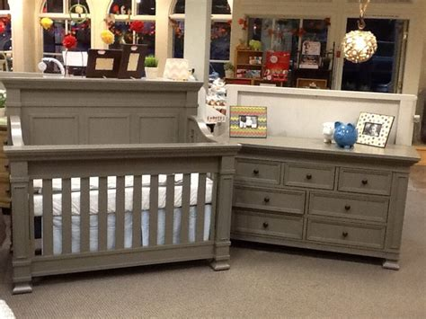 Million Dollar Baby Tillen Crib And Dresser In Washed Grey Baby Cribs And Dressers