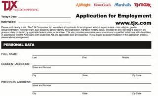 t j maxx application print form