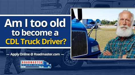 am i to old at sixty to have a beachy look hairstyle am i too old to become a truck driver the official blog