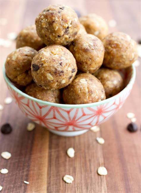protein balls chocolate chip peanut butter cookie dough protein balls