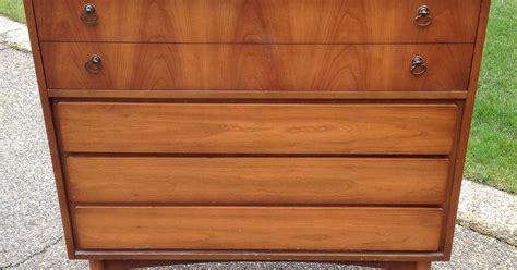 Painted Mid Century Furniture by Painted Geometric Mid Century Dresser Hometalk