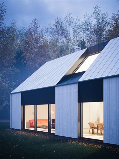 Prefab Gable Roof Tind House Modern Prefab Reflecting Tradition Prefab Homes
