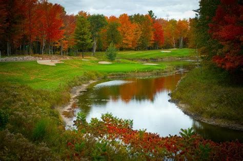 must play golf courses in southwestern michigan loon golf resort lakes course