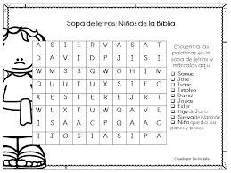 preguntas basicas de la biblia cristiana resultado de imagen para sopa de letras para ni 241 os