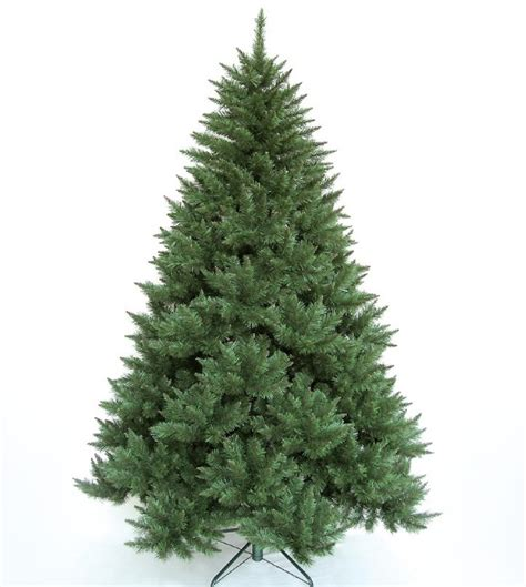 xmas tree green artificial alberta pine stand 7ft indoor