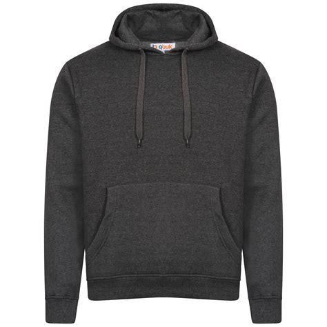 Hooded Plain Pullover mens plain casual hoodie hooded sweatshirt work wear