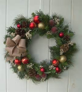 1000 ideas about artificial christmas wreaths on