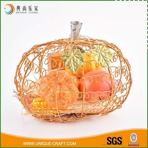interior decoration items environmental protection home wire pumpkin interior