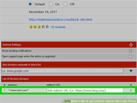 how to block and unblock internet sites with firefox wikihow how to block and unblock internet sites with firefox