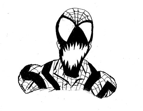 spider carnage coloring page spider carnage free coloring pages