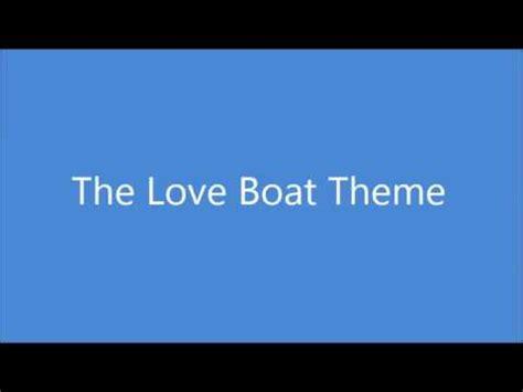 love boat theme song jack jones the love boat theme song jack jones cover youtube