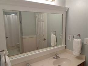framing bathroom mirror ideas cheriesparetime frame a mirror with