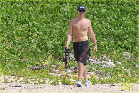 Shirtless Jon Bon Jovi Still At 45 by Jon Bon Jovi Alive Well In St Bart S Photo 2612245