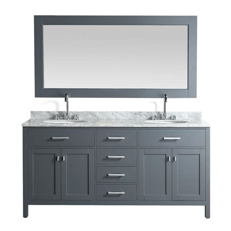 design element london 72 in w x 22 in d double vanity in design element portland 72 in w x 22 in d vanity in