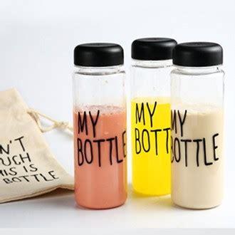Botol Minum Tritan Bpa Free Bag My Bottle Infused Water grosir 500 ml plastik kosong botol air mineral botol saya