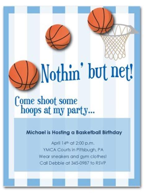 basketball birthday card templates printable basketball birthday invitation template