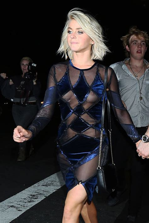 Julianne Hough Wardrobe by Jilianne Hough See Thru Dress Wardrobe