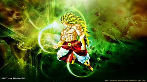 wallpaper dragon ball z broly broly legendary super saiyan 3 wallpaper by jeffery10