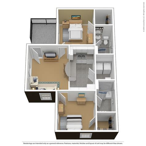 2 bedroom 2 bathroom floor plans virtual tours the courtyards