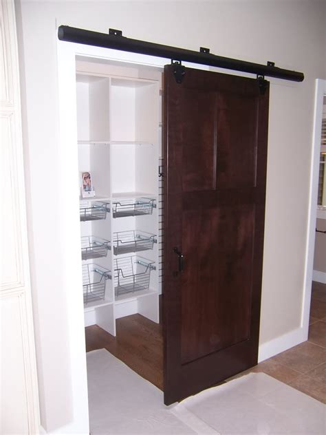 Wood Sliding Door by Wood Portable Closet With Doors Decobizz