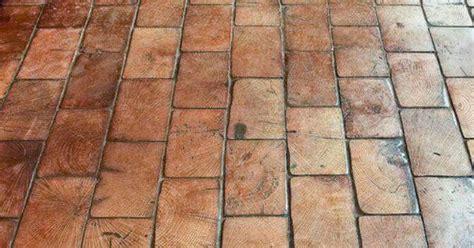 Wood floor made to look like brick   Home   Pinterest