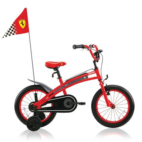 ferrari bicycle kids ferrari cx 20 16 inch kids bike applepineapplenan
